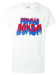 Opening Ceremony Totally Bonsai Print T Shirt White