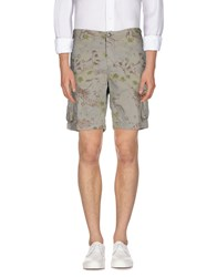 Uniform Trousers Bermuda Shorts Men Grey