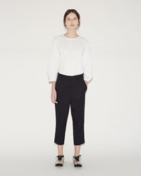 Comme Des Garcons Tailored Trousers Navy