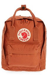 Fjall Raven Fjallraven 'Mini Kanken' Water Resistant Backpack Red