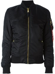 Alpha Industries Lightweight Bomber Jacket Black