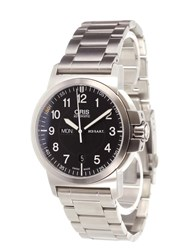 Oris 'Bc3 Air Racing Silver Lake' Analog Watch