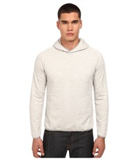 Theory Stasius P.Axis Terry Hoodie Light Heather Men's Sweatshirt Beige