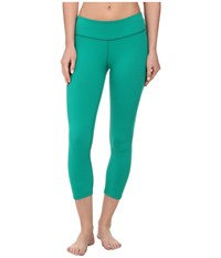 Beyond Yoga Back Gather Legging Bright Emerald Women's Workout Green