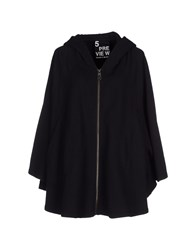 5Preview Coats And Jackets Cloaks Women Black
