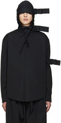 Craig Green Black Hooded Straps Jacket