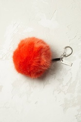 Anthropologie Flurry Key Ring Orange