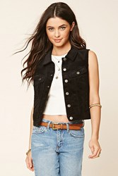 Forever 21 Buttoned Corduroy Vest