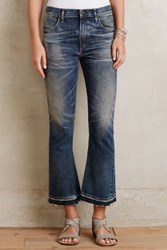 Anthropologie Citizens Of Humanity Sasha Twist Crop Flares Lit Up