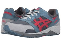 Onitsuka Tiger By Asics Gel Lique Blue Mirage Red Athletic Shoes Multi