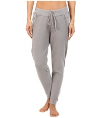 Hard Tail Quilt Front Low Ride Pants Nickel Women's Workout Beige