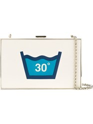 Anya Hindmarch 'Washing Imperial' Clutch Nude And Neutrals