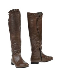 Tosca Blu Boots Cocoa
