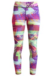 Reebok Tights Kiwi Green Multicoloured