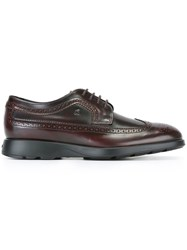 Hogan Classic Oxford Shoes Red