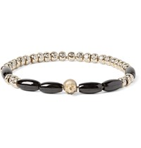 Luis Morais Gold Diamond And Spinel Bead Bracelet Gold