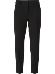 Sportmax Cropped Slim Fit Trousers Black