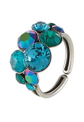 Konplott Petit Glamour Ring Blue Green