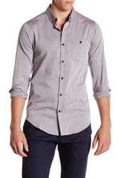 Ezekiel Blink Regular Fit Button Down Shirt Purple