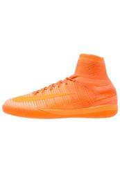 Nike Performance Mercurialx Proximo Ii Ic Indoor Football Boots Total Orange Bright Citrus Hyper Crimson Peach Cream