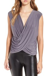 Leith Women's Double Surplice Top