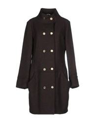 Manila Grace Coats And Jackets Coats Women Dark Brown