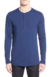 Men's Michael Stars Long Sleeve Henley