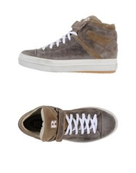 Ruco Line High Tops And Trainers Khaki