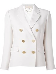 Vanessa Bruno Double Breasted Blazer White