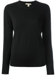 Burberry Brit Elbow Patch Sweater Black
