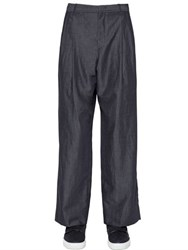 Giorgio Armani 27Cm Wool And Linen Blend Pants