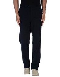 Luigi Bianchi Mantova Trousers Casual Trousers Men Dark Blue