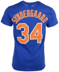 Majestic Men's Noah Syndergaard New York Mets Player T Shirt