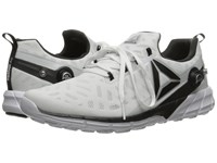 Reebok Zpump Fusion 2.5 White Skull Grey Black Coal Silver Metallic Men's Running Shoes