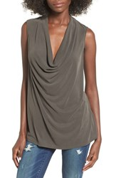 Madison And Berkeley Women's Cowl Neck Tank