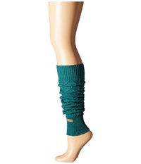 Toesox Leg Warmer Knee Highs Forest Women's Knee High Socks Shoes Green