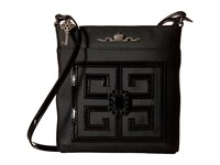My Flat In London Chiswick Crossbody Black Black Cross Body Handbags