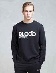 Blood Brother Bb Logo Sweatshirt