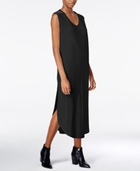 Bar Iii Sleeveless Midi Dress Only At Macy's Deep Black