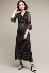 Anthropologie Risana Midi Dress Black