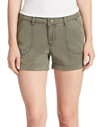 William Rast Solid Shorts Khaki
