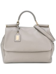 Dolce And Gabbana Classic Tote Grey