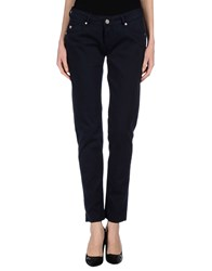 Take Two Trousers Casual Trousers Women Dark Blue