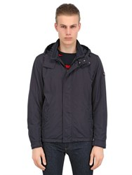 Paul And Shark Hooded Padded Nylon Jacket