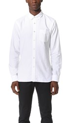 Todd Snyder Selvedge Oxford Shirt White
