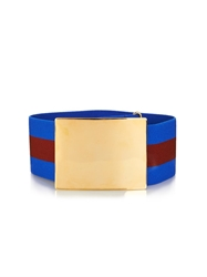Stella Mccartney Elasticated Striped Belt