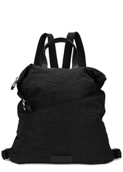 Mcq By Alexander Mcqueen Black Crinkle Effect Tote