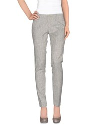 Berwich Trousers Casual Trousers Women Light Grey