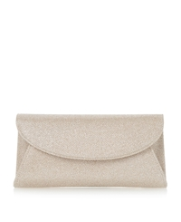 Untold Beray Fold Over Clutch Bag Gold