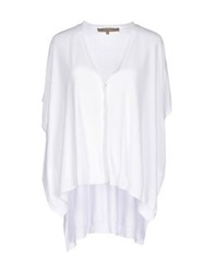 Space Style Concept Cardigans White